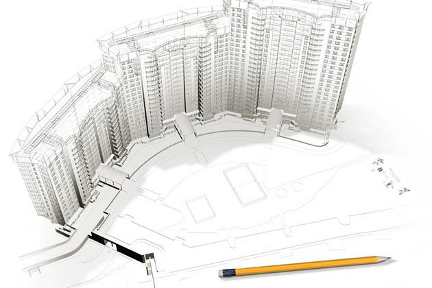 Проектирование проекта здания. Типовые проекты зданий