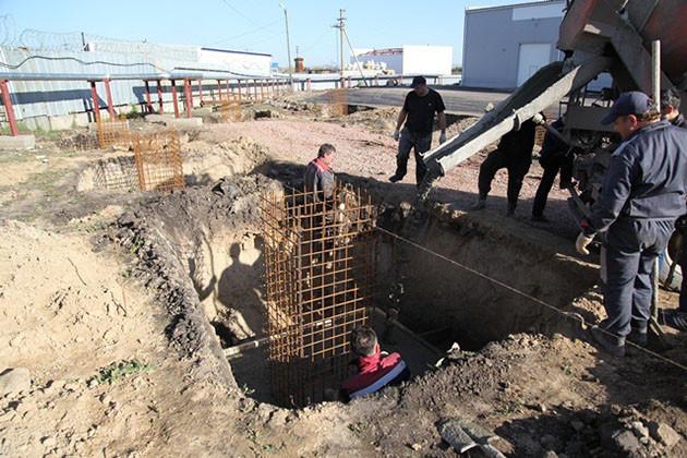 Монолитная железобетонная плита фундамента цена в Подольске